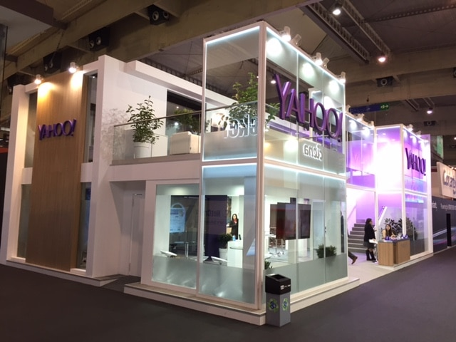 Stand Yahoo para el Mobile World Congress 2015