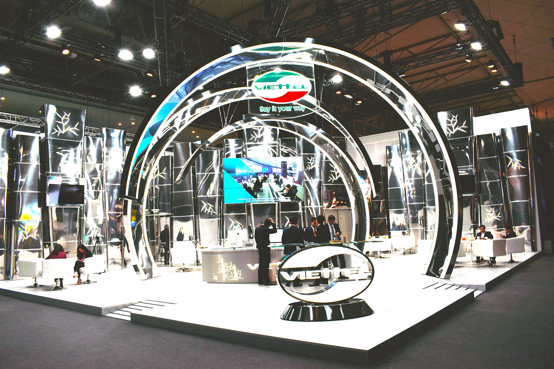 fairs stands design Angle Exhibits