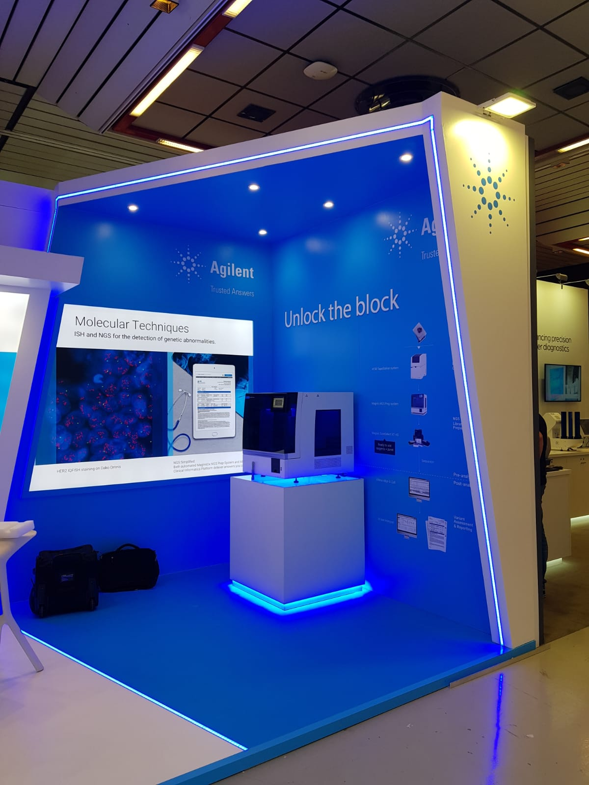 Trade fairs and congresses stands