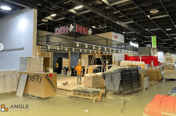 anuga customised stand assembly